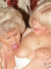 Francesca and Erlene are hot older women indulging their inner lesbos and taking their oral fix