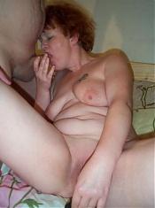 mature redhead gets a good pounding
